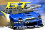 GT Advance 2: Rally Racing Game Boy Advance Title screen
