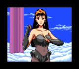 Aurora Quest: Otaku no Seiza in Another World TurboGrafx CD Close up on one of the girls