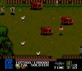 Last Alert TurboGrafx CD Barnyard Battle