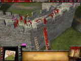 FireFly Studios' Stronghold 2 Windows Ladders meld into walls and soldiers into one another...
