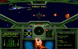 Wing Commander: The Secret Missions 2 - Crusade DOS Iceman and me meet some bad boys out in space