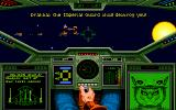 Wing Commander: The Secret Missions 2 - Crusade DOS Communicating with an Kirathi squad leader