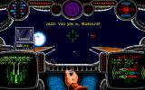 "Wing Commander: The Secret Missions 2 - Crusade DOS Flying a Kilrathi ""Dralthi"" fighter"