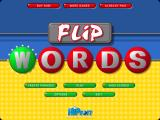 Flip Words Windows Main menu