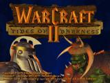 Warcraft II: Tides of Darkness DOS Title screen