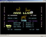 C64 Classix Windows Mama Llama Title screen