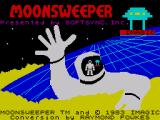 Moonsweeper ZX Spectrum Title screen
