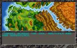 The Dark Queen of Krynn DOS Demo map overview