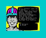 Doc the Destroyer ZX Spectrum Make a choice form the options