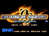 The King of Fighters '99: Millennium Battle Neo Geo Title Screen