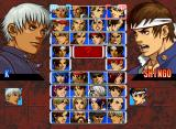 The King of Fighters '99: Millennium Battle Neo Geo Character Select