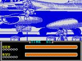 Street Fighter II ZX Spectrum The plane is to big to fit in the screen and scrolls when you jump