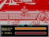 Street Fighter II ZX Spectrum Dhalsim's victory pose