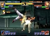 The King of Fighters '99: Millennium Battle Neo Geo Jhun VS. Robert