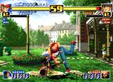 The King of Fighters '99: Millennium Battle Neo Geo Terry VS. Choi