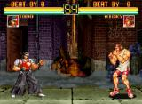 Art of Fighting Neo Geo Todo VS. Micky