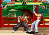 Art of Fighting Neo Geo Robert VS. Todo 1