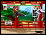 Art of Fighting Neo Geo Robert VS. Todo 3