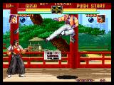 Art of Fighting Neo Geo Robert VS. Todo 2