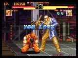 "Art of Fighting Neo Geo Ryo VS. Mr. Big Post-Fight ""You Lost"""