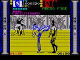 Pit-Fighter ZX Spectrum Ty's high kick is quite powerful