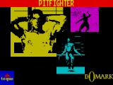 Pit-Fighter ZX Spectrum A still from the animated character screen