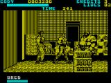 Final Fight ZX Spectrum The fat guys can charge at you head first