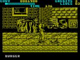 Final Fight ZX Spectrum Eating off of the floor is good for you in this game