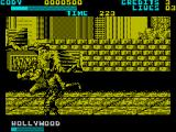 Final Fight ZX Spectrum Cody's flying kick didn't stop this guy