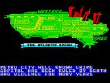 Final Fight ZX Spectrum This is the map of the city which you've got to fight your way through