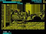 Final Fight ZX Spectrum The metal pipes good if outnumbered