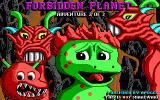 Cosmo's Cosmic Adventure: Forbidden Planet DOS Title screen from Episode 2