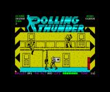 Rolling Thunder ZX Spectrum Shoot him before he shoots you