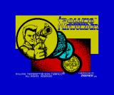Rolling Thunder ZX Spectrum Loading screen