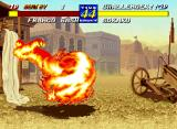 Fatal Fury 3: Road to the Final Victory Neo Geo Surrounded by fire, Sokaku teaches Franco Bash that it is a potentially lethal weapon when used in the wrong hands...
