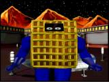 Chex Quest DOS Our hero from the intro cutscene