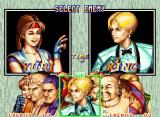 "Art of Fighting 2 Neo Geo Fighter selected, choose the next ""victim"" too: you've many options... ;-D"
