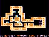 Soko-Ban TRS-80 CoCo Pushing blocks on level one