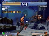 The King of Fighters 2003 Neo Geo Kim VS. Kusanagi