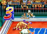 3 Count Bout Neo Geo CD T. Rogers VS. Gandhara