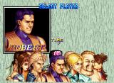 Art of Fighting 2 Neo Geo CD Character Select