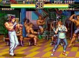 Art of Fighting 2 Neo Geo CD Robert VS. Yuri