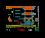 Chubby Gristle ZX Spectrum Crossed the screen and colelcted the bonuses