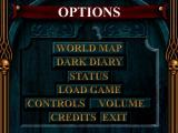 Blood Omen: Legacy of Kain Windows Options screen