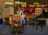 Burning Fight Neo Geo CD In this bar, you can smash tables and destroy a piano for bonus points, ala Final Fight...