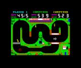 Grand Prix Simulator 2 ZX Spectrum In race 2 the remaining time is added on, hence the difference in time remaining