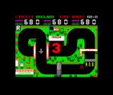 Grand Prix Simulator 2 ZX Spectrum Ready to start the race