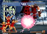 The King of Fighters 2003 Neo Geo Athena's LSDM new finish: Chu - Psycho Bomber.