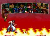Samurai Shodown III: Blades of Blood Neo Geo Selecting your swordsman: some old characters return in a new design, as well as new fighters starring too.