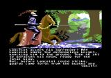 Lancelot Commodore 64 Trying to kill the Black Knight